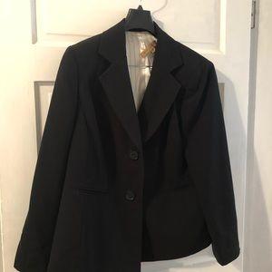 Nipon Boutique 14W 2 button jacket black